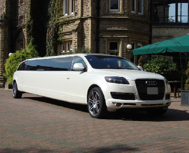 Limo Hire in Worcester Racecourse