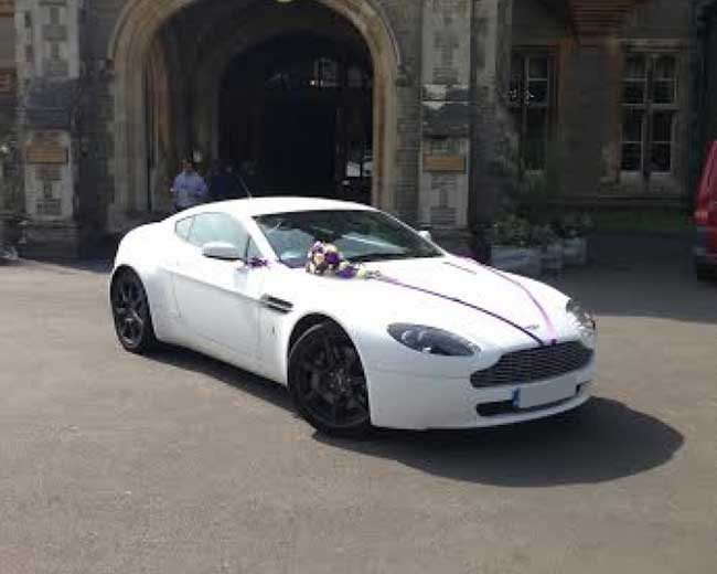 Aston Martin Vantage Hire  in [MAINAREA]