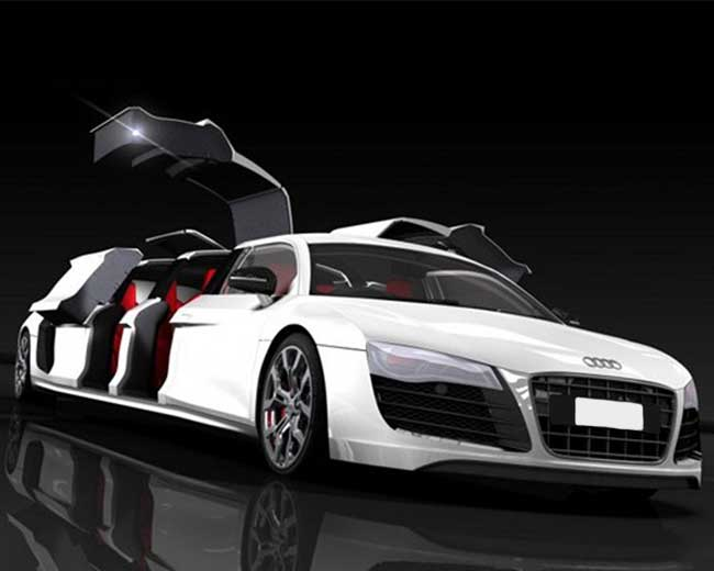 Audi R8 Limo Hire in [MAINAREA]