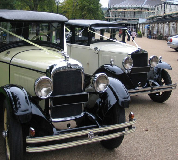 1927 Studebaker Dictator Hire in Sandown Park Racecourse