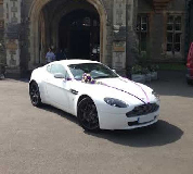 Aston Martin Vantage Hire  in Cartmel Racecourse