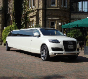 Audi Q7 Limo in Thirsk Racecourse