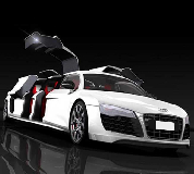 Audi R8 Limo Hire in Worcester Racecourse
