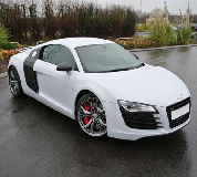 Audi R8 Hire in Bangor on Dee Racecourse