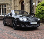 Bentley Continental Hire in Catterick Racecourse