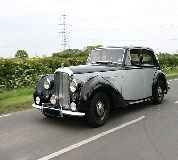 Bentley MK VI Hire in Market Rasen Racecourse