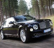 Bentley Mulsanne in Cheltenham Racecourse