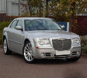 Chrysler 300C Baby Bentley Hire in Chepstow Racecourse
