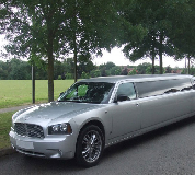 Dodge Charger Limo in Perth Racecourse