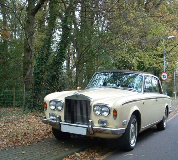 Duchess - Rolls Royce Silver Shadow Hire in Bangor on Dee Racecourse