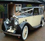 Grand Prince - Rolls Royce Hire in Sandown Park Racecourse