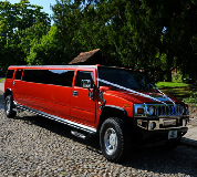 Hummer Limos in Thirsk Racecourse