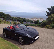 Jaguar F Type Hire in Chepstow Racecourse