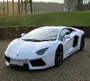 Lamborghini Aventador Hire in Chelmsford City Racecourse