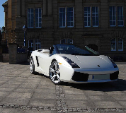 Lamborghini Gallardo Hire in Nottingham Racecourse
