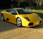 Lamborghini Murcielago Hire in Goodwood Racecourse