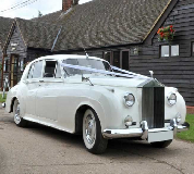 Marquees - Rolls Royce Silver Cloud Hire in Salisbury Racecourse
