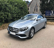 Mercedes E220 in Market Rasen Racecourse