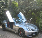 Mercedes Mclaren SLR Hire in Chepstow Racecourse