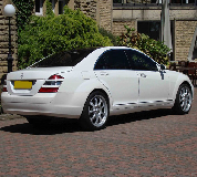 Mercedes S Class Hire in Garnant