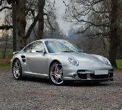 Porsche 911 Turbo Hire in Leicester Racecourse