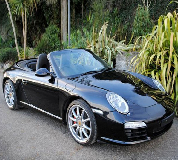 Porsche Carrera S Convertible Hire in Goodwood Racecourse