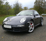 Porsche Carrera S in Hereford Racecourse