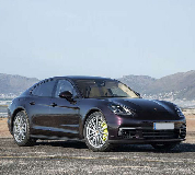 Porsche Panamera Hire in Sherburn in Elmet