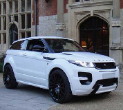 Range Rover Evoque Hire in Ripon Racecourse