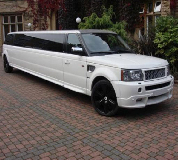 Range Rover Limo in Bath Racecourse