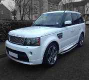 Range Rover Sport Hire  in Red Cloak