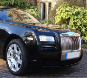 Rolls Royce Ghost - Black Hire in Worcester Racecourse