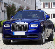 Rolls Royce Ghost - Blue Hire in Sandown Park Racecourse