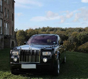 Rolls Royce Phantom - Black Hire in Denny