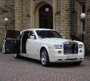 Rolls Royce Phantom Hire in Bath Racecourse