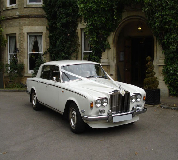 Rolls Royce Silver Shadow Hire in Towcester Racecourse