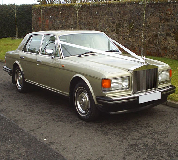 Rolls Royce Silver Spirit Hire in Sandown Park Racecourse