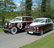 Ruby Baroness - Daimler Hire in Banbury