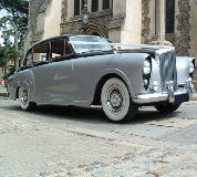 Silver Lady - Bentley Hire in Hucknall