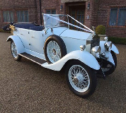1927 Vintage Soft Top Rolls Royce in Market Weighton