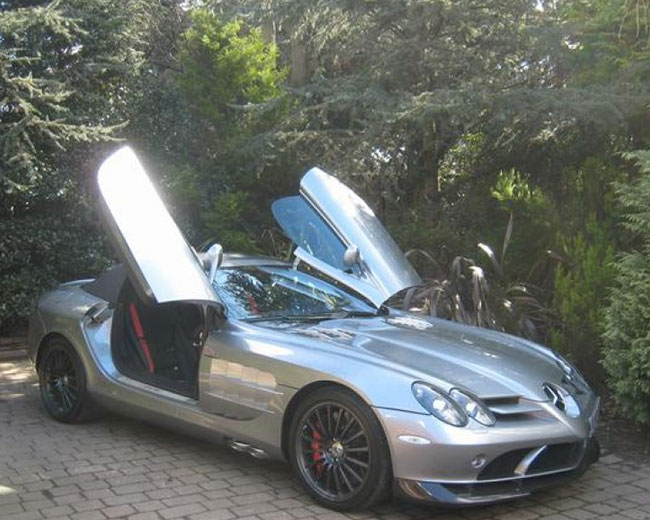 Mercedes Mclaren SLR Hire in [MAINAREA]