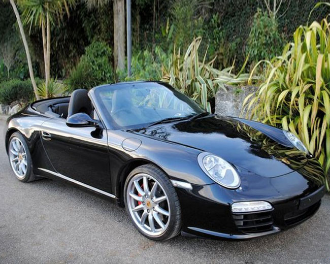 Porsche Carrera S Convertible Hire in [MAINAREA]