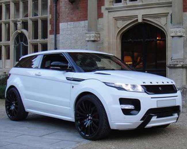 Range Rover Evoque Hire in [MAINAREA]