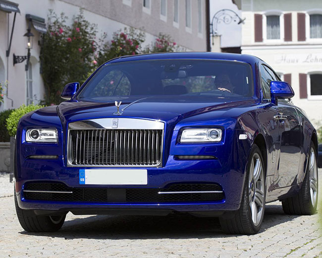 Rolls Royce Ghost - Blue Hire in [MAINAREA]