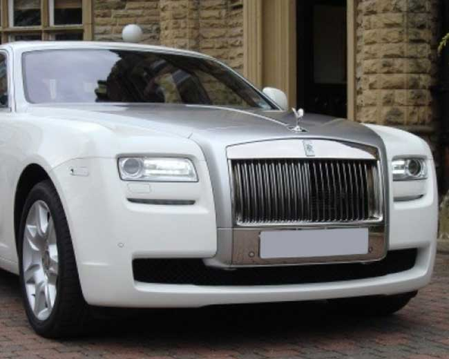 Rolls Royce Ghost - White Hire in [MAINAREA]