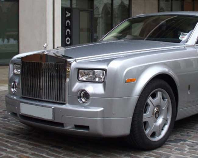 Rolls Royce Phantom - Silver Hire in [MAINAREA]