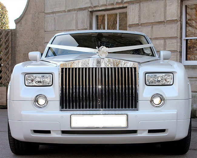 Rolls Royce Phantom - White hire  in [MAINAREA]