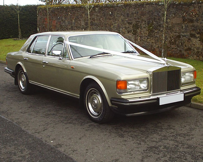 Rolls Royce Silver Spirit Hire in [MAINAREA]